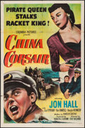 "Movie Posters:Adventure, China Corsair (Columbia, 1951). One Sheet (27"" X 41""). Adventure.. ..."