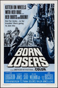 """Movie Posters:Exploitation, Born Losers (American International, 1967). One Sheet (27"""" X 41"""")& Lobby cards (5) (11"""" X 14""""). Exploitation.. ... (Total: 6Items)"""