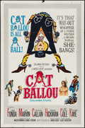 "Movie Posters:Comedy, Cat Ballou (Columbia, 1965). Folded, Fine/Very Fine. One Sheet (27"" X 41""). Comedy.. ..."
