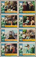 """Movie Posters:Action, Samson and the Slave Queen & Others Lot (American International, 1964). Lobby Card Sets of 8 (3 Sets) (11"""" X 14""""). Action.. ... (Total: 24 Items)"""