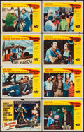 "Movie Posters:Adventure, Thunder Bay & Other Lot (Universal International, 1953). LobbyCard Sets of 8 (2 Sets) (11"" X 14""). Adventure.. ... (Total: 16Items)"