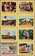 """Movie Posters:Adventure, Around the World in 80 Days (United Artists, 1956). Lobby Card Setof 8 (11"""" X 14""""). Adventure.. ... (Total: 8 Items)"""