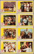 """Movie Posters:Comedy, It Happened in Athens (20th Century Fox, 1962). Lobby Card Set of 8(11"""" X 14""""). Comedy.. ... (Total: 8 Items)"""