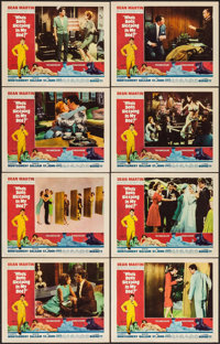 """Who's Been Sleeping in My Bed? & Other Lot (Paramount, 1963). Lobby Card Sets of 8 (2 Sets) (11"""" X 14""""). C..."""