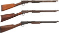 Long Guns:Slide Action, Lot of Three Winchester Model 06 Slide Action Rifles.... (Total: 3Items)