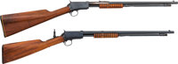 Lot of Two Winchester Model 06 Slide Action Rifles
