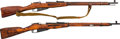 Long Guns:Bolt Action, Lot of Two Russian Bolt Action Rifles.... (Total: 2 Items)