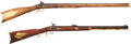 Long Guns:Muzzle loading, Lot of Two Reproduction Percussion Rifles.... (Total: 2 Items)
