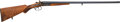 Shotgun:Double Barrel, Engraved Belgian Double Barrel Percussion Shotgun....
