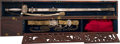 Edged Weapons:Swords, Colonel John C. Hays Mexican War Cased Presentation Sword....