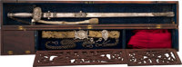 Colonel John C. Hays Mexican War Cased Presentation Sword