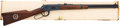 Long Guns:Lever Action, Boxed Winchester Model 94 Texas Rangers Commemorative Saddle Ring Carbine....