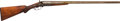 Shotgun:Double Barrel, H. Pieper Double Barrel Percussion Shotgun....