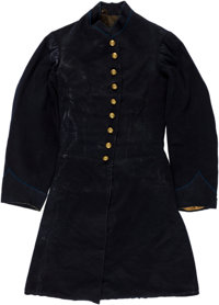 Civil War Enlisted Frock Coat Identified to Private John H. Burchsted, D Company, Massachusetts 44th Infantry Regiment.&...