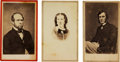 Photography:CDVs, Lot of Three Cartes de Visite of Civil War Spies and Secret Agents....