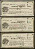 Obsoletes By State:Nevada, Ely, NV- First National Bank Certificates of Deposit Various Amounts 1928 Three Examples. ... (Total: 3 items)