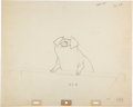 Animation Art:Production Drawing, Mary Poppins Barnyard Pig Animation Drawing (Walt Disney,1964)....