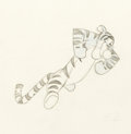 Animation Art:Production Drawing, Winnie the Pooh and the Blustery Day Tigger and WinnieAnimation Drawings Sequence of 4 (Walt Disney, 1968). ... (Total: 4Items)