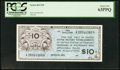 Military Payment Certificates:Series 461, Series 461 $10 PCGS Choice New 63PPQ.. ...