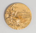 Bronze:European, A 1928 Amsterdam Summer Olympics Bronze Medal, designed by GiuseppeCassioli. 55 mm diameter. PROPERTY FROM THE COLLECTION...
