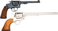 Handguns:Single Action Revolver, Lot of Two American Revolvers.... (Total: 2 Items)
