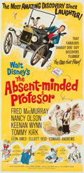 Animation Art:Poster, The Absent-Minded Professor Theatrical Poster (WaltDisney/Buena Vista, 1961). ...