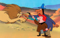 Animation Art:Production Cel, Trailblazer Magoo Mr. Magoo Production Cel Setup (UPA, 1956). ...