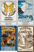 Animation Art:Poster, Spike and Mike's Festival of Animation Poster Group(1979-2007).... (Total: 15 Items)
