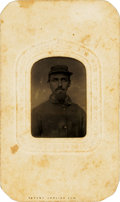 Photography:Tintypes, Union Soldier Tintype....