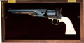 Handguns:Single Action Revolver, Cased Colt Confederate Union Commemorative 1860 Army Single Action Revolver....
