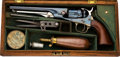 Handguns:Single Action Revolver, Cased Colt 1862 Police Model Single Action Revolver....
