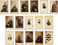 Photography:CDVs, Sixteen Cartes de Visite of Identified Civil War Officers....