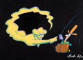 Animation Art:Production Cel, City Slickers II: The Legend of Curly's Gold Opening TitleProduction Cel (Columbia/1994). ...