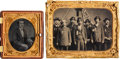 Photography:Daguerreotypes, [Civil War]. Two GAR Related Daguerreotypes.... (Total: 2 Items)