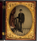 "Photography:Tintypes, Half-Plate Civil War Tintype ""The Wedding Procession"" (Krainik 10)...."