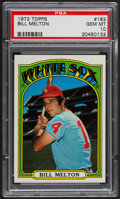 Baseball Cards:Singles (1970-Now), 1972 Topps Bill Melton #183 PSA Gem MT 10. ...