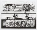 Original Comic Art:Splash Pages, Bart Sears and Mark Pennington The Path #2 Pages 18-19Double Page Spread Original Art (CrossGen, 2003)....
