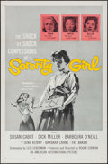 "Movie Posters:Bad Girl, Sorority Girl (American International, 1957). One Sheet (27"" X 41""). Bad Girl.. ..."