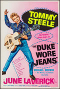 """Movie Posters:Comedy, The Duke Wore Jeans (Anglo Amalgamated, 1958). Folded, Very Fine-. British Double Crown (20"""" X 30""""). Comedy.. ..."""