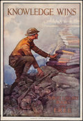 "Movie Posters:War, World War I Propaganda (American Library Association, 1918). Poster(20"" X 28""). War.. ..."