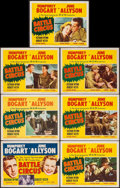 """Movie Posters:War, Battle Circus (MGM, 1953). Title Lobby Card & Lobby Cards (6)(11"""" X 14""""). War.. ... (Total: 7 Items)"""