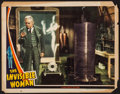 "Movie Posters:Horror, The Invisible Woman (Universal, 1940). Lobby Card (11"" X 14""). Horror.. ..."