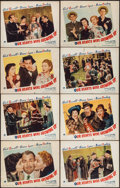 "Movie Posters:Comedy, Our Hearts Were Growing Up (Paramount, 1946). Lobby Card Set of 8(11"" X 14""). Comedy.. ... (Total: 8 Items)"