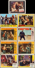 """Movie Posters:Sports, Champion & Others Lot (United Artists, 1949). Lobby Cards (8) (11"""" X 14"""") & Trimmed Lobby Card (10.75"""" X 14""""). Sports.. ... (Total: 9 Items)"""
