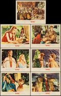 """Movie Posters:Fantasy, She (MGM, 1965). Lobby Cards (7) (11"""" X 14""""). Fantasy.. ... (Total: 7 Items)"""