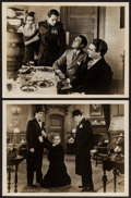 """Movie Posters:Crime, The Public Enemy (Warner Brothers, 1931). Foreign Release Photos (2) (7.5"""" X 9.5""""). Crime.. ... (Total: 2 Items)"""