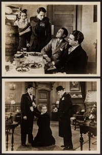 """The Public Enemy (Warner Brothers, 1931). Foreign Release Photos (2) (7.5"""" X 9.5""""). Crime. ... (Total: 2 Items..."""