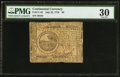 Colonial Notes:Continental Congress Issues, Continental Currency July 22, 1776 $6 PMG Very Fine 30.. ...