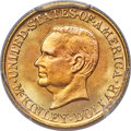 Commemorative Gold, 1917 G$1 McKinley Gold Dollar MS67+ PCGS. CAC....