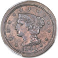 Proof Large Cents, 1849 1C PR63 Brown PCGS. N-30, R.6, R.7 as a Proof. ...